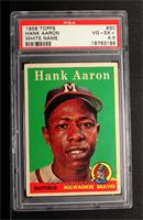 Hank Aaron (player name in white) [PSA 4.5]