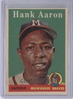 Hank Aaron (player name in white) [Good to VG‑EX]