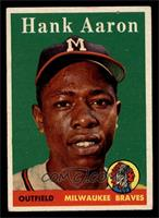 Hank Aaron (player name in white) [EX]