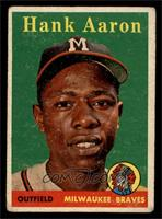 Hank Aaron (player name in yellow) [GOOD]