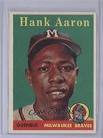 Hank Aaron (player name in yellow) [Good to VG‑EX]