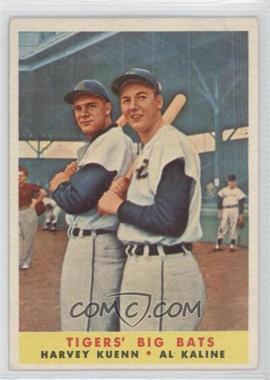 1958 Topps #304 - Harvey Kuenn, Al Kaline