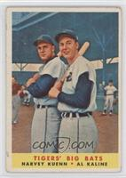 Harvey Kuenn, Al Kaline [Good to VG‑EX]