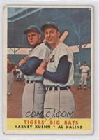 Tigers' Big Bats (Harvey Kuenn, Al Kaline) [PoortoFair]