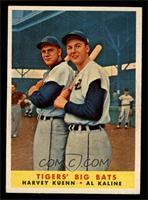 Tigers' Big Bats (Harvey Kuenn, Al Kaline) [EXMT]