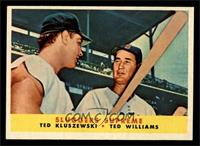 Sluggers Supreme (Ted Kluszewski, Ted Williams) [EX MT]
