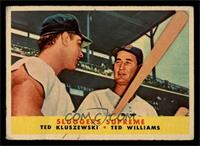 Sluggers Supreme (Ted Kluszewski, Ted Williams) [FAIR]