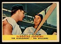 Sluggers Supreme (Ted Kluszewski, Ted Williams) [EX]