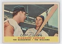Sluggers Supreme (Ted Kluszewski, Ted Williams)