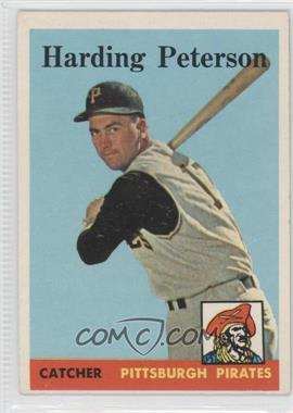 1958 Topps #322 - Hardy Peterson