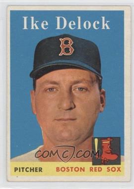 1958 Topps #328 - Ike Delock