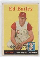 Ed Bailey [GoodtoVG‑EX]