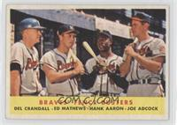 Braves' Fence Busters (Del Crandall, Eddie Mathews, Hank Aaron, Joe Adcock)