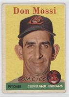Don Mossi (White Team Name) [Good to VG‑EX]