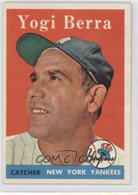 1958 Topps #370 - Yogi Berra