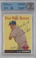 Pee Wee Reese [BGS/JSACertifiedAuto]