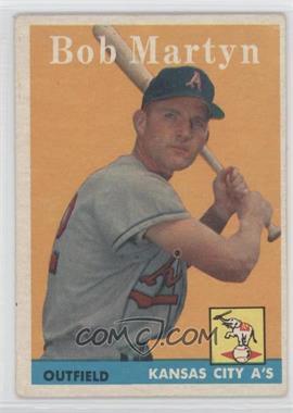 1958 Topps #39 - Bob Martyn