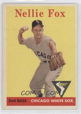 1958 Topps #400 - Nellie Fox