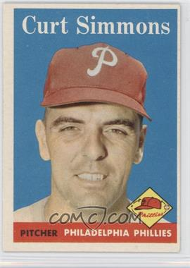 1958 Topps #404 - Curt Simmons