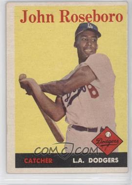 1958 Topps #42 - John Roseboro