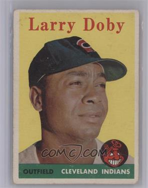 1958 Topps #424 - Larry Doby [Very Good]