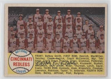 1958 Topps #428.2 - Cincinnati Reds Team
