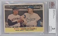 Rival Fence Busters (Willie Mays, Duke Snider) [BVG 3]