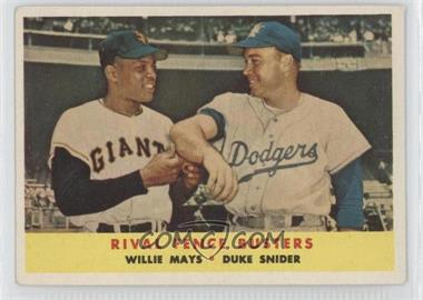 1958 Topps #436 - Willie Mays