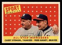 All-Star Managers (Casey Stengel, Fred Haney) [NM]