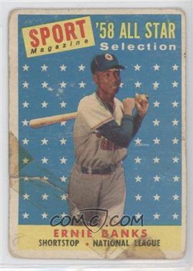 1958 Topps #482 - Ernie Banks
