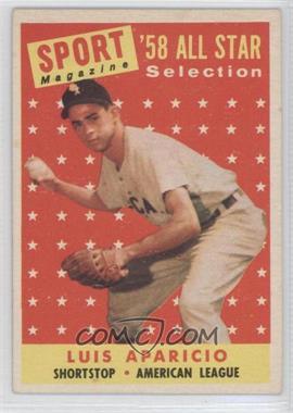 1958 Topps #483 - Luis Aparicio