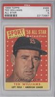 Ted Williams [PSA 5]