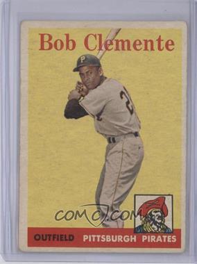 1958 Topps #52 - Roberto Clemente [GoodtoVG‑EX]