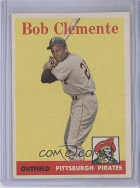 1958 Topps #52 - Roberto Clemente