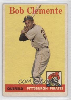 1958 Topps #52 - Roberto Clemente [Good to VG‑EX]