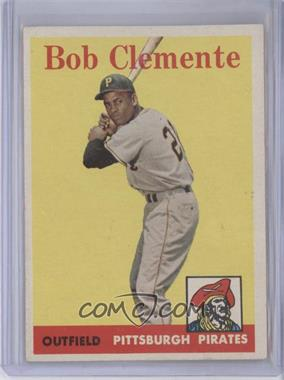 1958 Topps #52.1 - Roberto Clemente (White Team Name)