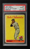 Roberto Clemente (Yellow Team Name) [PSA 2.5]