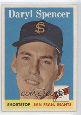 1958 Topps #68 - Daryl Spencer