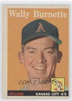 Wally Burnette [Good to VG‑EX]