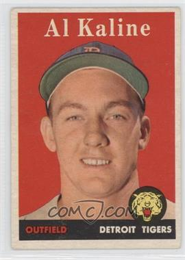 1958 Topps #70.1 - Al Kaline (player name in white) [Good to VG‑EX]