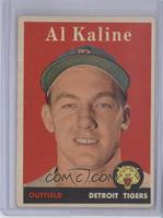 Al Kaline (player name in white)