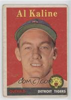 Al Kaline (player name in yellow) [Poor]