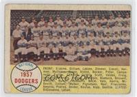 Brooklyn/Los Angeles Dodgers Team [Poor]