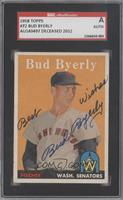 Bud Byerly [SGC AUTHENTIC AUTO]
