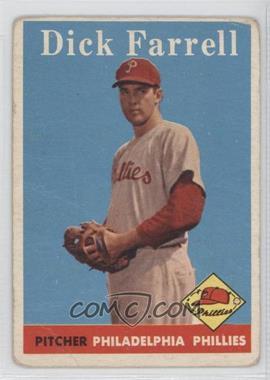 1958 Topps #76 - Turk Farrell