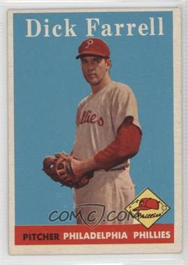 1958 Topps #76.1 - Dick Farrell