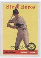 Steve Boros (team name in white)