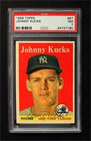 Johnny Kucks [PSA 7]