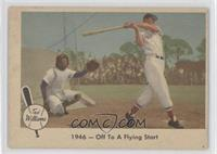 1946 - Off To A Flying Start (Ted Williams) [Good to VG‑EX]