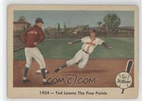 1934 Ted Learns the Fine Points (Ted Williams) [Good to VG‑EX]